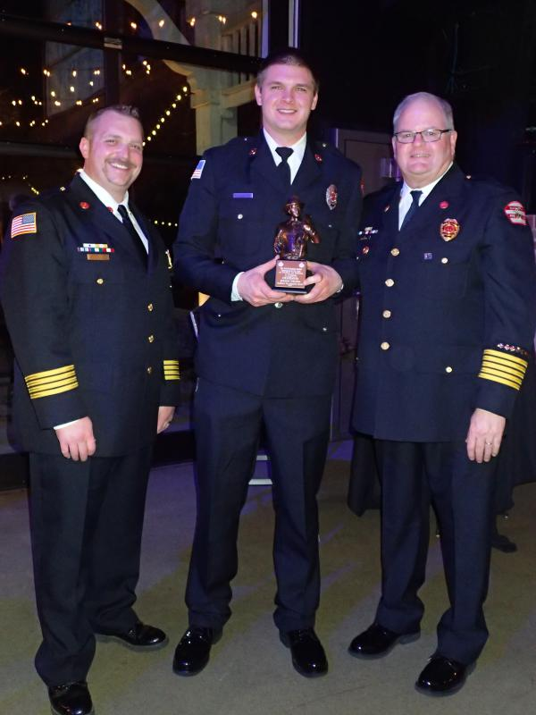 Chief Jack Fitzgerald Award for Excellence and Dedication in Firefighting- Jeremy Wilson
