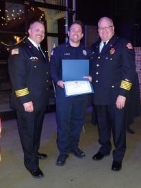 EMS Life Save Award- Justin Kozar