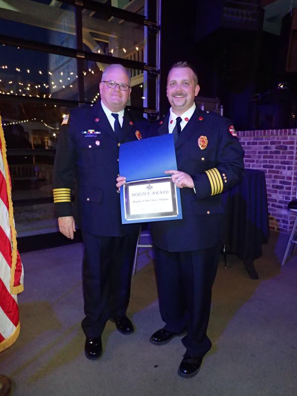 15 Years of Service- DC Steve Malone