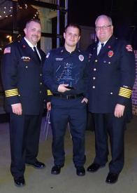 Todd Burke EMS Person of the Year- Alec Spagnoli