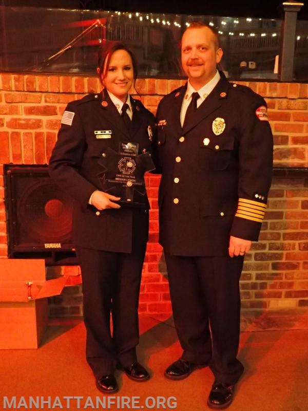 Congratulations to the 2018 Todd Burke EMS Person of the Year Award recipient, Firefighter/Paramedic Megan Lynch!
