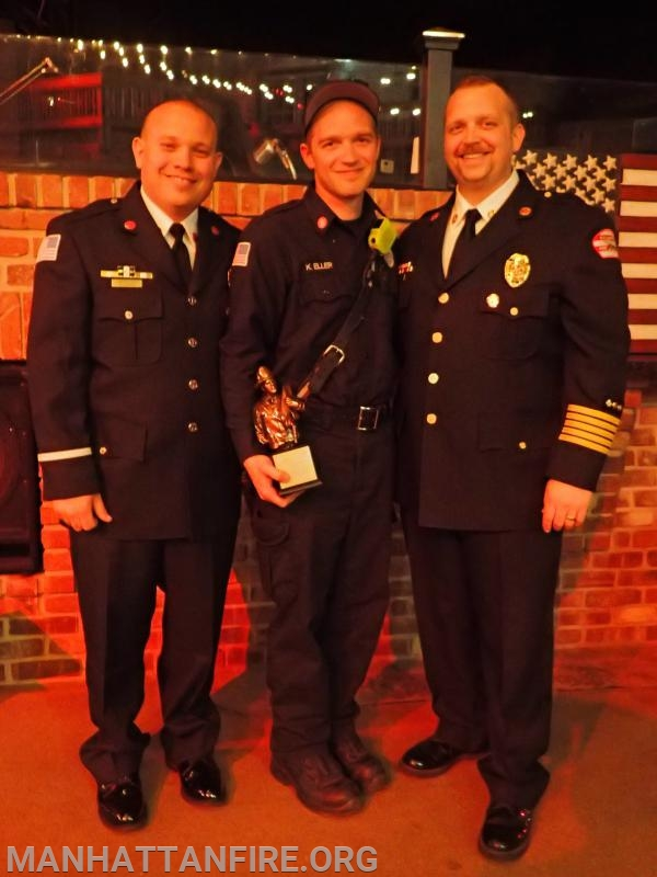 Congratulations to the 2018 Jack Fitzgerald Firefighter of the Year Award recipient, Firefighter Kyle Eller!
